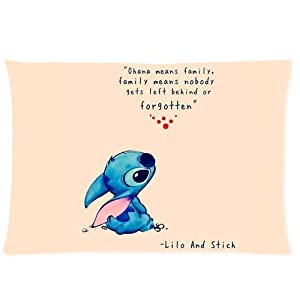 Amazon.com: Homecase Lovely Cute Lilo and Stitch Ohana Means Family