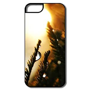 IPhone 5/5S Case, Water Drops Bokeh White/black Cases For IPhone 5