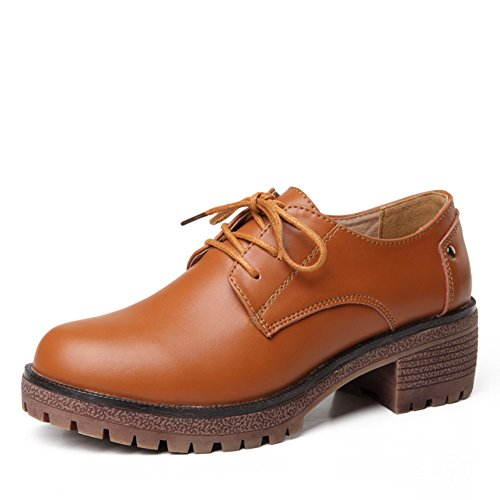 Spring Casual Women Shoes,Thick-bottomed Shoes,Jurchen Leather Casual Shoes,Women With Waterproof Leather Shoes B