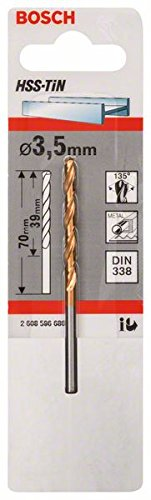 Bosch Pro Metallbohrer HSS-TiN (Ø 3, 5 mm) 2608596686