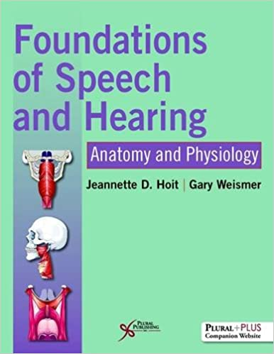 Foundations of Speech and Hearing: Anatomy and Physiology ...