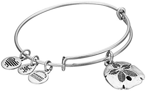 UPC 886787111326, Alex and Ani Sand Dollar II Expandable Rafaelian Silver Bangle Bracelet