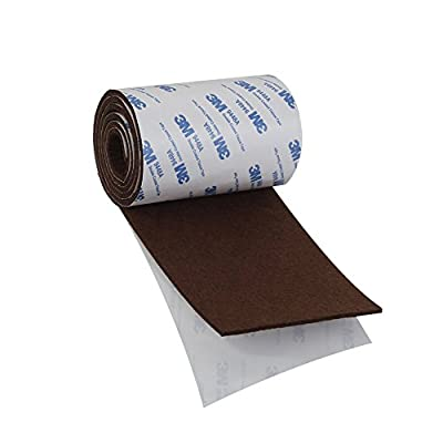 Shintop Felt Tape DIY Adhesive Heavy Duty Felt Strip Roll