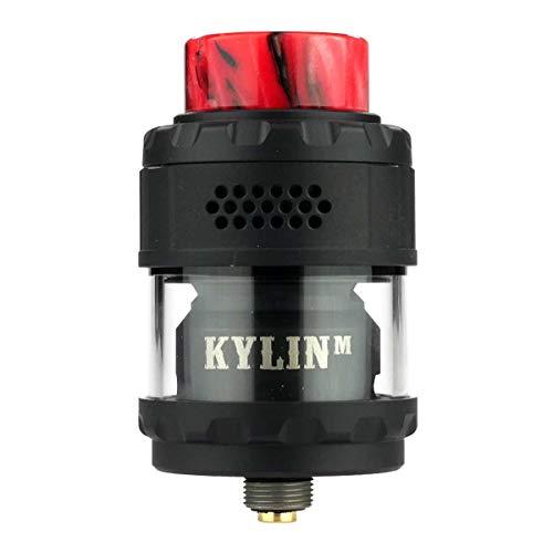 VandyVape Kylin M RTA Tank Clearomizer 3,0 ml / 4,5 ml, Durchmesser 24 mm, Riccardo Verdampfer für e-Zigarette, matt…