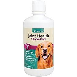 NaturVet Joint Health Supreme Level 3 Hip & Joint Dog Supplement, 32 OZ