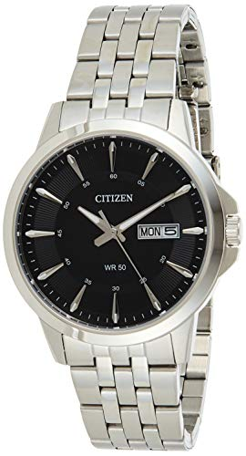 Citizen Men's BF2011-51E Silver Stainless-Steel Plated Japanese Quartz Dress Watch
