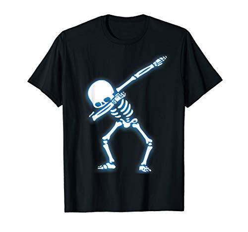 Dabbing Skeleton Shirt Kids, , Halloween shirt gift Gift -