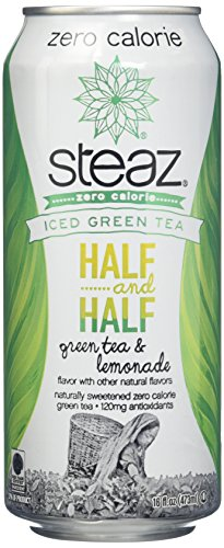 Steaz Organic Iced Teaz, 16 Ounce (Pack of 12)