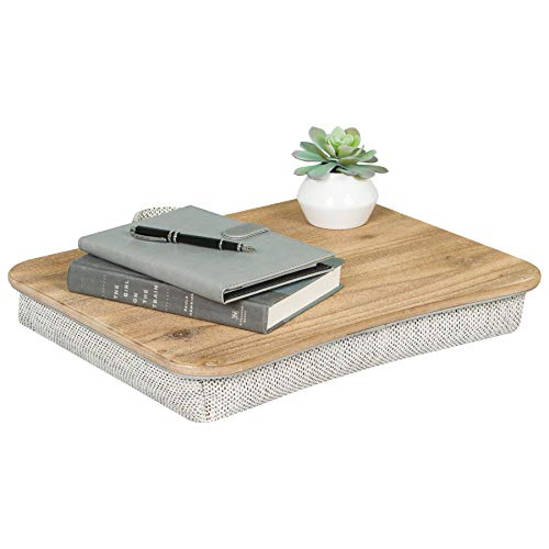 LapGear Heritage Wood Lap Desk - Rustic Brown (Fits up to 17.3