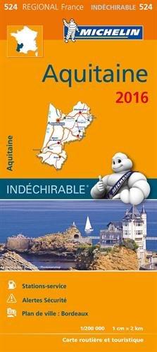 Carte Aquitaine 2016 Michelin Carte – 4 janvier 2016 2067209027 Voyages / Cartes et Plans Autokaarten Cartes France