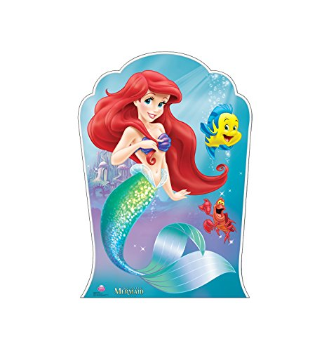 Advanced Graphics Ariel and Friends Life Size Cardboard Cutout Standup - Disney's The Little Mermaid -