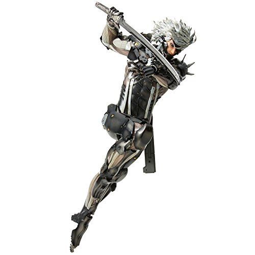 Union Creative Menshdge Technical Statue No. 33: Metal Gear Rising Revengeance Raiden Resin Statue ()