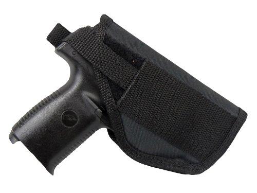 Barsony NEW Gun Concealment OWB Belt Holster for Nano Lasermax CF right