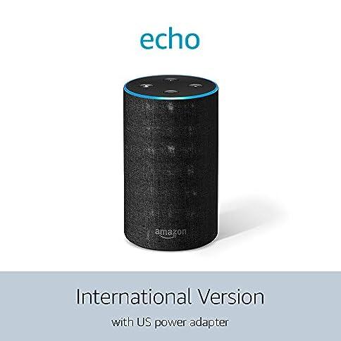 echo (2nd generation) international version – charcoal fabric - 412 2BV003M8L - Echo (2nd Generation) International Version – Charcoal Fabric