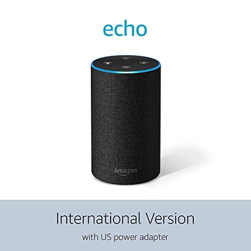 Echo (2nd Generation) International Version – Charcoal Fabric