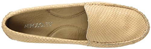 Aerosoles Frauen Over Drive Slip-On Loafer Leichte Tan-Schlange