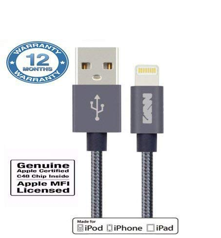 Trucase 1M USB Fast Charger (Grey) Mobile Phone Data Cables at amazon