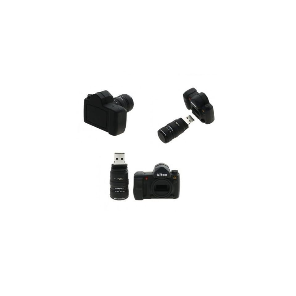 8GB Nikon Camera Bag Shaped USB Flash Memory Drive