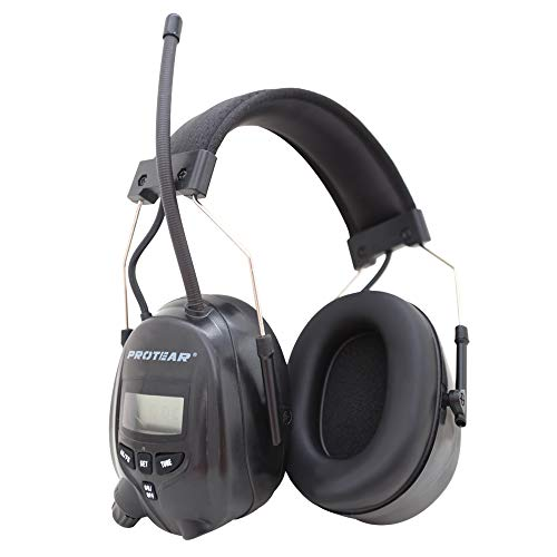 Protear FM/AM Radio Noise Reduction Headset,Protear Ear Defenders with Stereo Headphone Jack for Working/Mowing by PROTEAR (Image #7)