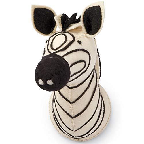 Mud Pie Baby Nursery Wall Mounts (Zebra) ()