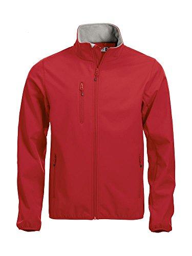 Rojo Homme Clique Veste Marine Softshell wAqvUxfH86