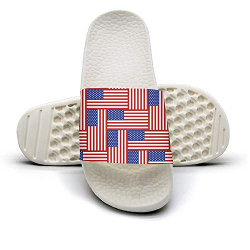 Outdoor American Display Guxefi Flop Womens Flag Flag Comfort American Sandals Slides Fashionable House Flip Display 7zxzwEIrq