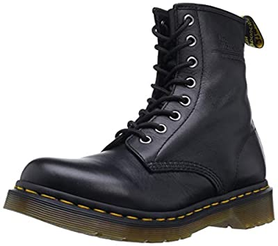 Dr. Marten's Women's 1460 8-Eye Patent Leather Boots, Black, 9 B(M) US