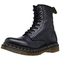 Dr. Martens Womens 1460W Originals Eight-Eye Lace-Up Boot, Black, 7 M US/5 UK