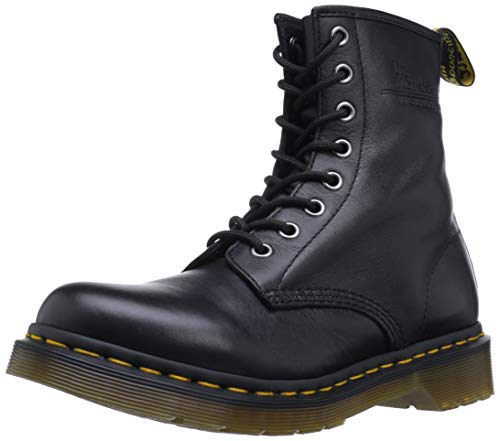 Martens Doc Boots Mens (Dr. Martens Womens 1460W Originals Eight-Eye Lace-Up Boot, Black, 8 M US/6 UK)