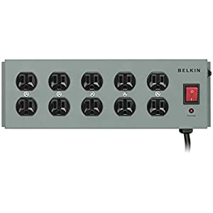 Belkin Metal Power Strip Surge Protector by Belkin Components