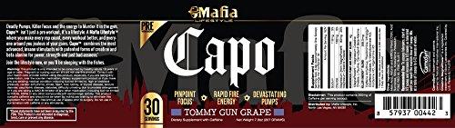 Mafia Lifestyle Capo - Extreme Preworkout with Creatine for Energy and Focus