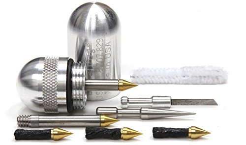 Dynaplug PILL Bicycle Puncture Repair (Polished Aluminum)