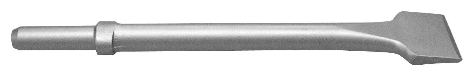 Champion Chisel, 12-Inch Long by 2-Inch Wide .680 Round Shank Oval Collar Chipping Hammer Chisel