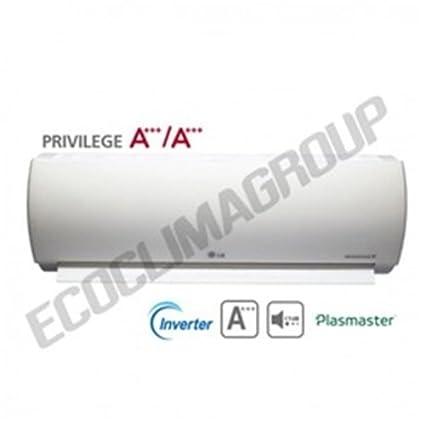 LG MA09AH1 Sistema split Negro - Aire acondicionado (A, A, 830 W,