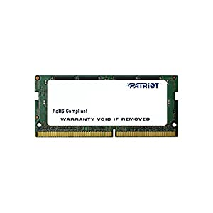 Patriot Memory Signature Line DDR4 16GB (1x16GB) SODIMM Frequency: 2400MHz (PC4-19200) 1.2 Volt – PSD416G24002S