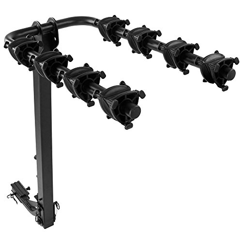 Apex Rage Powersports BC-7806-4J 4-Bike Folding Hitch Bicycle Rack