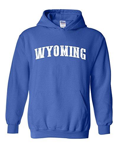 Ugo WY Wyoming Cheyenne Map Cowboys & Cowgirls Home University of Wyoming Unisex Hoodie - Stores Village Map University