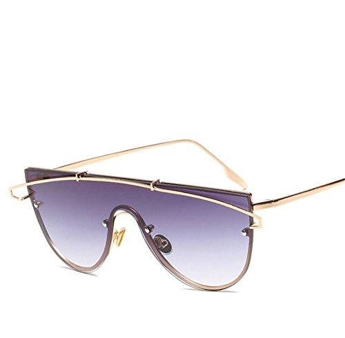 2018 Europea 1 De Océano De Gafas Sol Una Pieza Película Americana De Sol Protección De Gafas Océano Lente 1 Y Tendencia Nuevas Personalidad UV De De En47q6