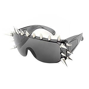 SG10902C2 PC Lens Rivet Plastic & Metal Frames Sunglasses