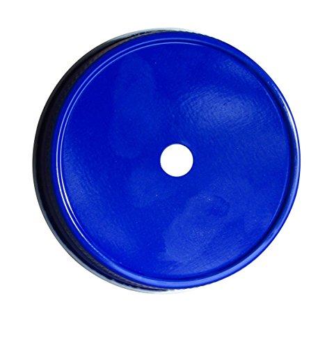 Mason Jar Straw Lids Set of 6 (Regular, Navy (Dark Blue Mason Jars)