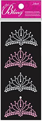 Jolee's Boutique Bling, Tiaras Dimensional Stickers