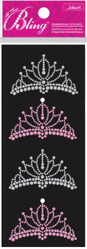 (Jolee's Boutique Bling, Tiaras Dimensional Stickers )
