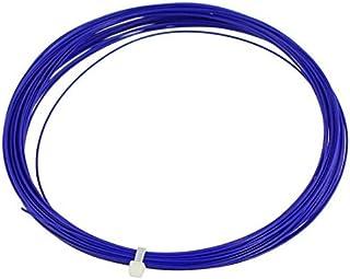 0.75mm Gauge 10M Longueur Badminton Racket Racquet cordes Bleu