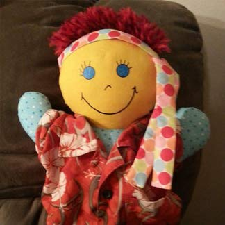 Handcrafted Travel Buddy Boy Happy Smiles For KidsTM Corporation