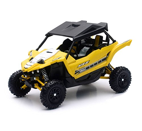 Orange Cycle Parts Die-Cast Replica Toy Yellow 1:18 Scale Yamaha YXZ1000R SE UTV Side-by-Side Dune Buggy by NewRay 57813B -