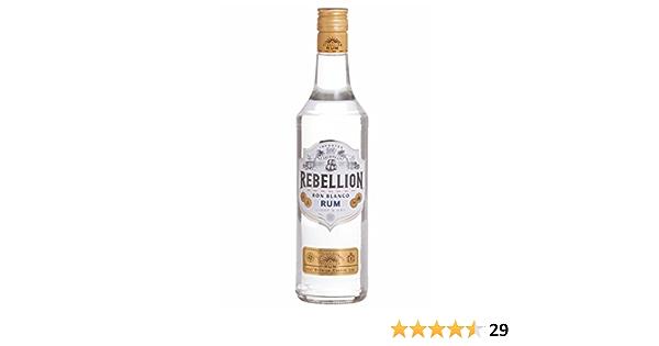 Rebellion Ron Blanco Rum, 70 cl: Amazon.es: Alimentación y ...