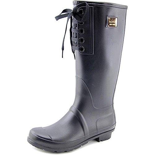 nicole-miller-new-york-combat-women-us-8-black-rain-boot