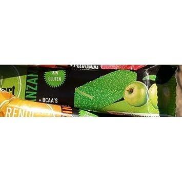 Rendi Vit Sport Barritas energénicas / Manzana / BCAA L-Glutamina Magnesio / Sin Gluten/ Pulpa de Fruta Natural: Amazon.es: Salud y cuidado personal
