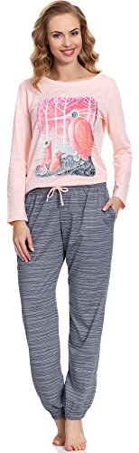 Cornette Pijama para mujer CR 684 01 Rosa
