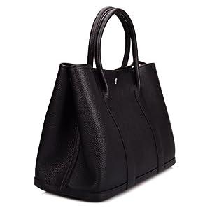 Ainifeel Women's Genuine Leather Tote Bag Top Handle Handbags On Sale